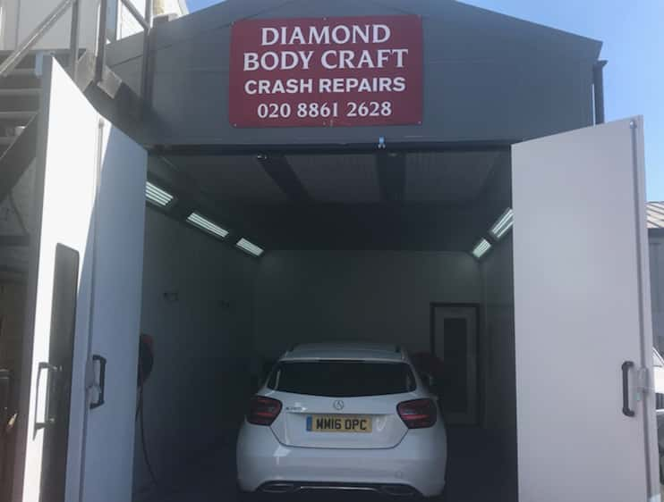 Diamond Bodycraft garage
